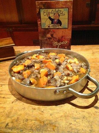 Estofado de ternera con moniatos