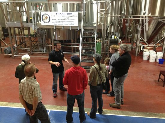 Pelican Pub & Brewery: Brewery Tour