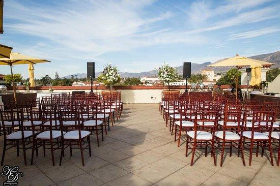 Kimpton Canary Hotel: wedding reception