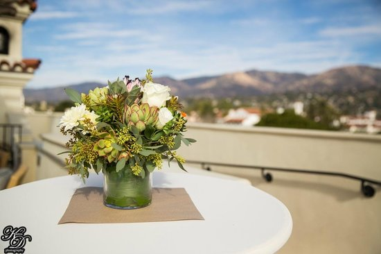 Kimpton Canary Hotel: roof top view from wedding
