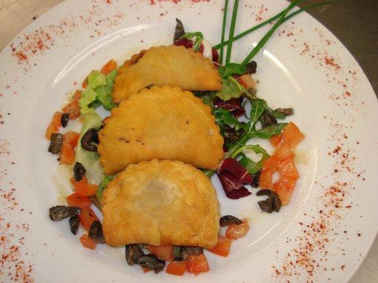 Tribeca Restaurante - Brasserie: Pastéis de massa tenra de caça