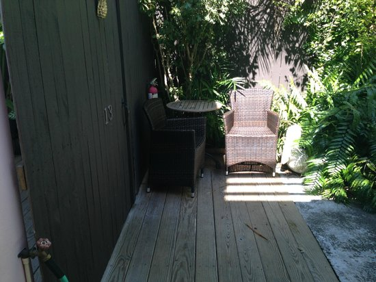 Cypress House Hotel : Key West: Cute outdoor area to relax