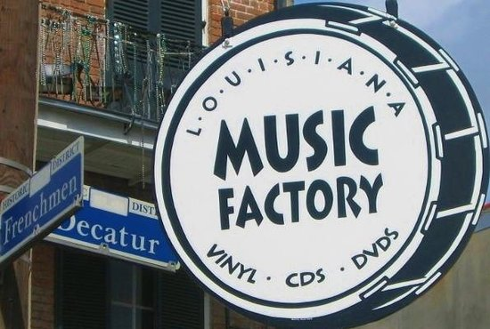 Louisiana Music Factory: 421 Frenchmen St.