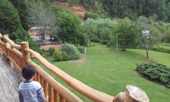Termas de Menetue: Paisaje desde terraza