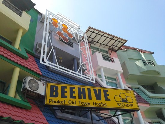 Beehive Phuket Old Town: Out side