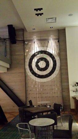 Hotel Zetta San Francisco : 2 story plinko