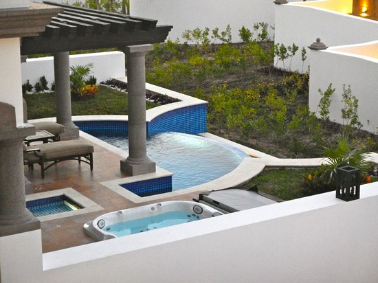 Grand Residences Riviera Cancun : Patio, private pool