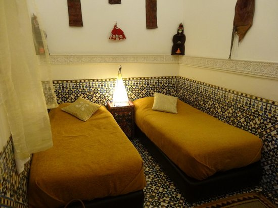 Riad Andalla: Our twin room