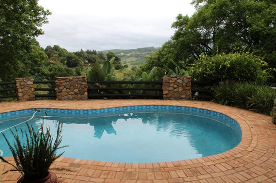 Pool der Valley View Lodge