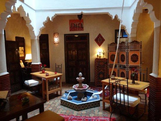 Riad Andalla : Downstairs in the riad