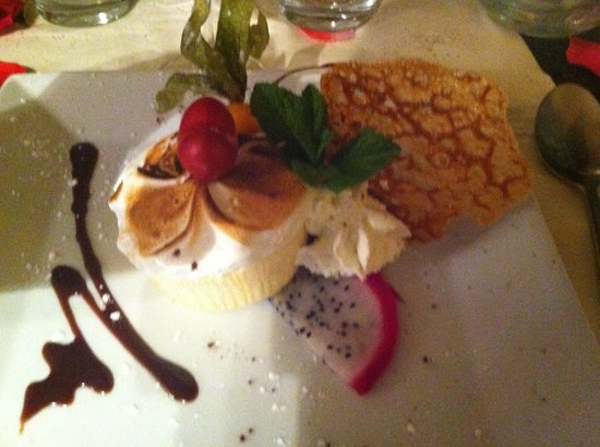 Saveurs et Sens: Parfait glacé au fruit de la passion et sa meringue