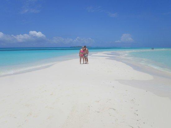Kuredu Island Resort & Spa: Sandsplit