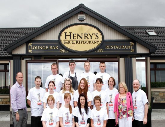 Henrys Bar & Restaurant: Rehab Charity Day