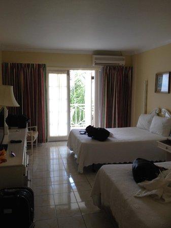 SeaGarden Beach Resort : deluxe room