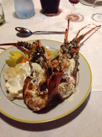 Mont Choisy Coral Azur Beach Resort : Cena con aragosta BUONISSIMA !!!!!