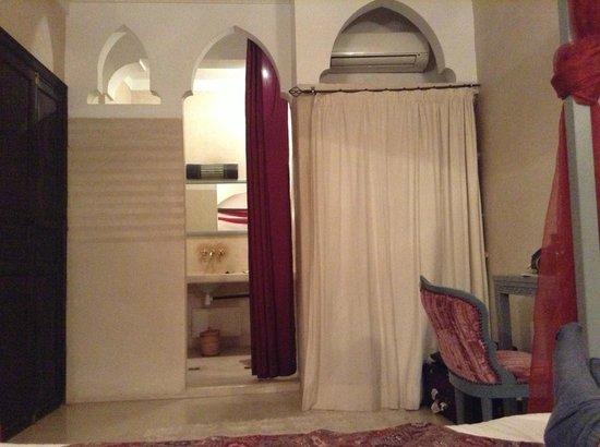 Riad Karmanda: vista desde la cama