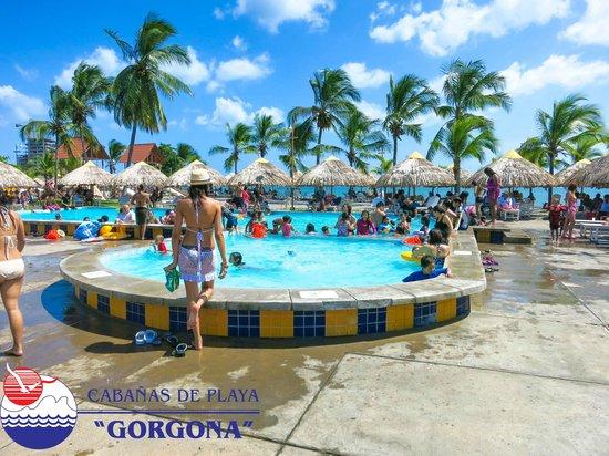 Cabanas de Playa Gorgona: Pool