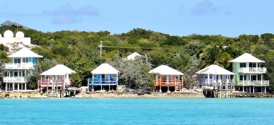 Staniel Cay Yacht Club: Absolutely beautiful.