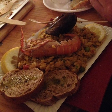 Markthalle Neun: The paella wasn't award-winning, FYI.