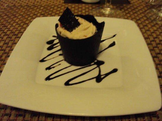 Grand Palladium Punta Cana Resort & Spa: Se ve rico pero no lo pidan que es un asco, grasa pura: mouse de chocolate