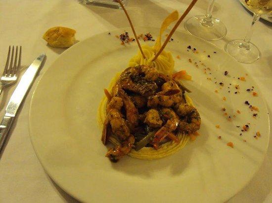 Grand Palladium Punta Cana Resort & Spa: Esa es la comida del rest a la carta