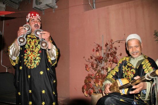 Riad Hannah City Hotel : Live Moroccan music