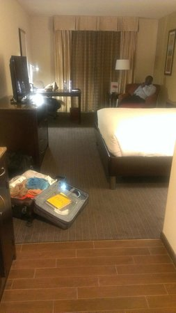 Hilton Garden Inn Houston NW America Plaza: The Room