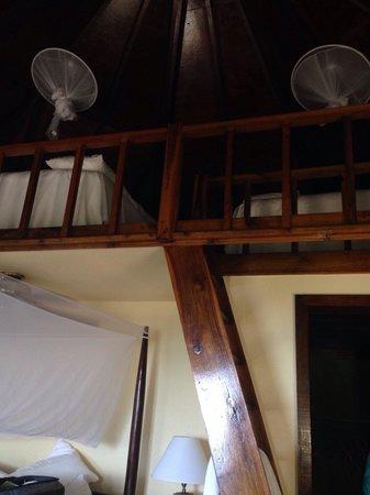 Rockhouse Hotel: Room 19 has a loft. Sleeps 4.