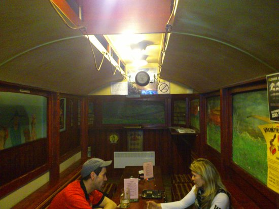 Prvni Pivni Tramway (First Beer Tramway) : the internal tram