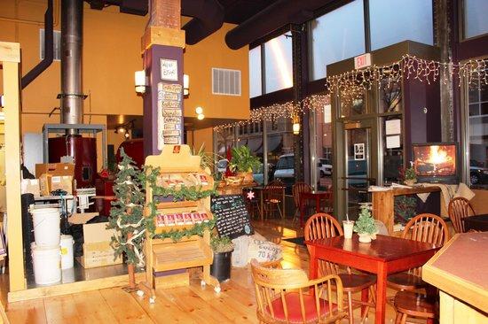 Rock Creek Coffee Roasters: One entrance