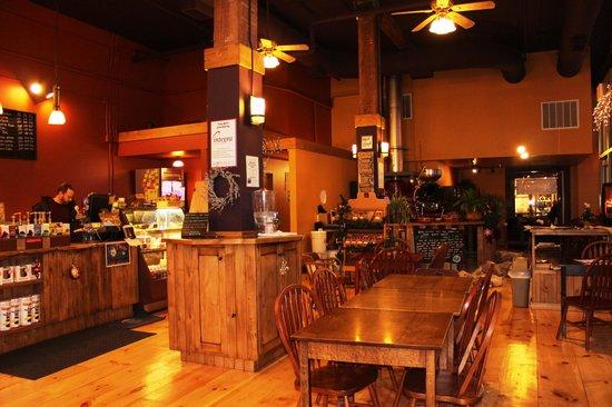 Rock Creek Coffee Roasters: Main area