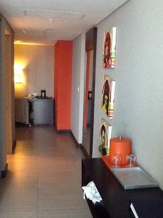 Hard Rock Hotel Panama Megapolis: couloir de ma chambre