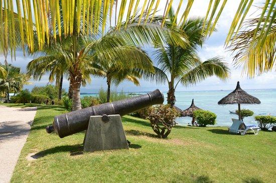 Canonnier Beachcomber Golf Resort & Spa : le jardin