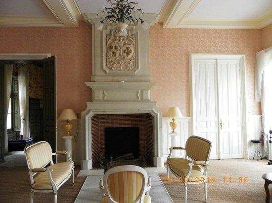 Chateau Hotel Savigny: Salon détente