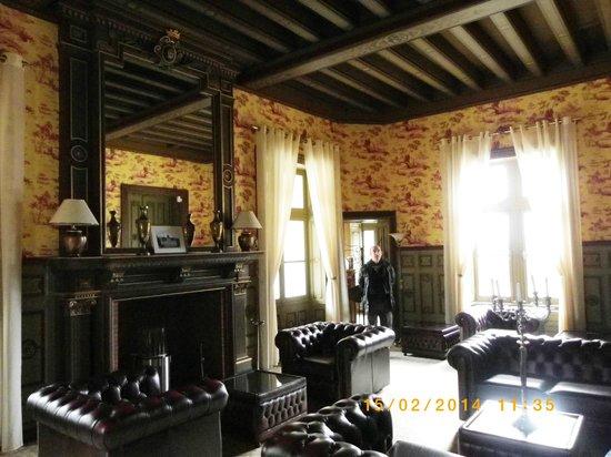 Chateau Hotel Savigny: Salon détente pour soirée