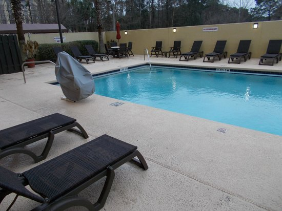 Wyndham Garden Jacksonville: Left view of pool