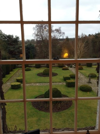 Rufflets Hotel: View from Room 11, the gardens to the rear of the house.