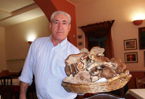 Poggiorsini, Италия: Girolamo e i funghi cardoncelli