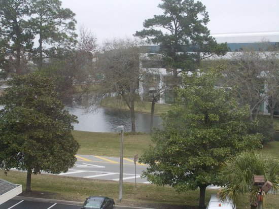 Wyndham Garden Jacksonville: Lake in front of business park