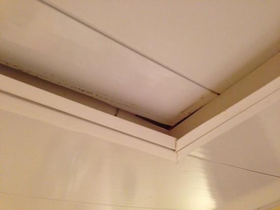 Grand Palladium Punta Cana Resort & Spa: Hatch in bathroom was dirty and slightly open