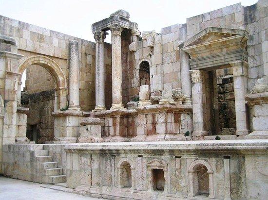 Ruinas de Jerash: IL TEATRO