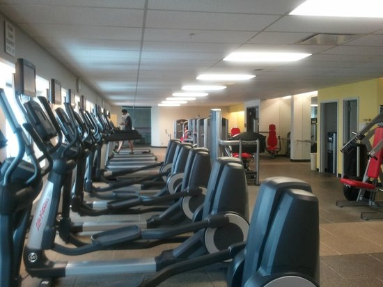 Kansas City Marriott Downtown: Great Gym