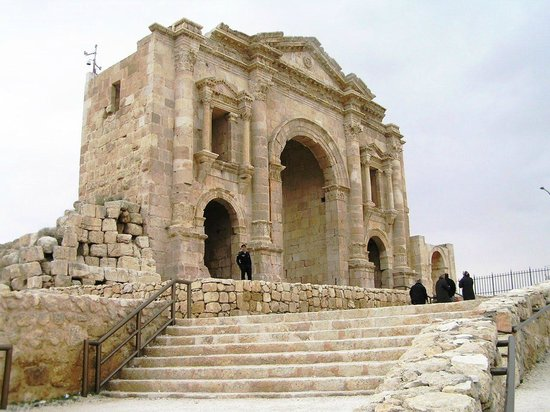 Ruinen von Gerasa: ARCO DI TRIONFO