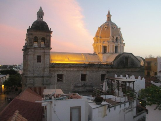 Casa Claver Loft Boutique Hotel: View from the Hotel roof