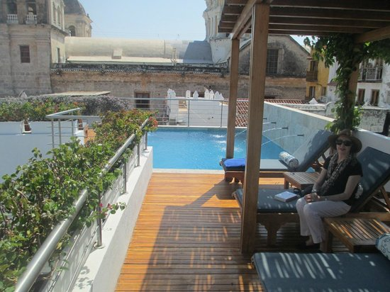 Casa Claver Loft Boutique Hotel: roof top pool