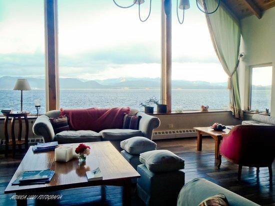 Sol del Nahuel: Sala de estar