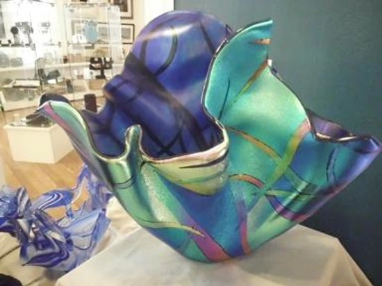 Howe Outrageous Fine Arts & Crafts: Glass by Gina Poppe
