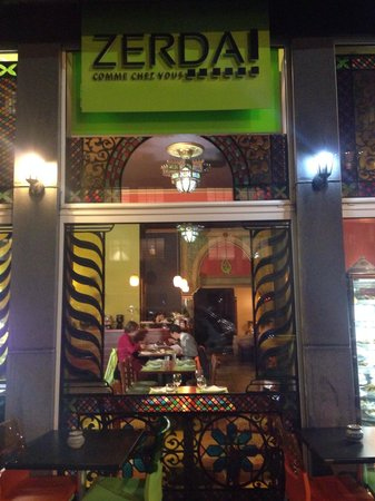 Photo of Moroccan Restaurant Zerda at Boulevard Emile Jacqmain 66, Brussels 1000, Belgium