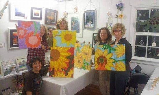 Howe Outrageous Fine Arts & Crafts: Howe Creative! Sunflowers.