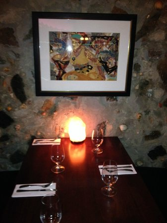 Virgin Fire Bar & Grill: Table at Virgin Fire